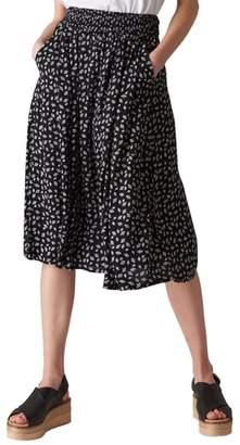 Whistles Gobi Print Skirt