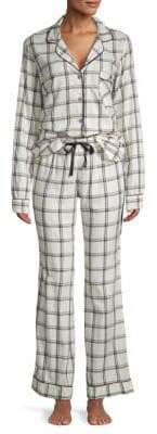 UGG Two-Piece Plaid Pajama Set