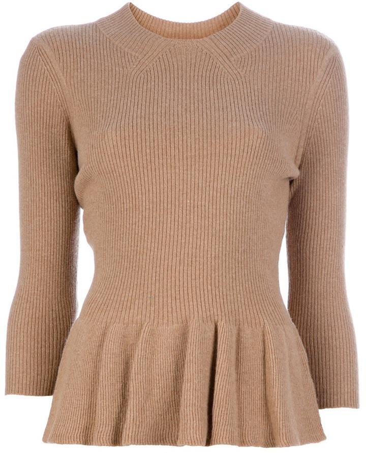 Tory Burch Pleat detail sweater