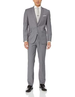 Kenneth Cole Unlisted by  Unlisted Men's 2 Button Slim Fit Suit with Hemmed Pant