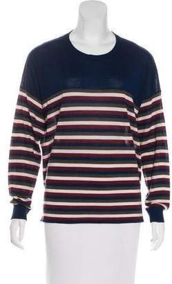 Jason Wu Grey by Wool Striped Sweater