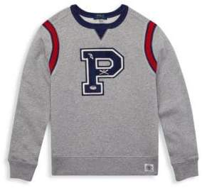 Ralph Lauren Little Boy's Novel Crewneck Sweater