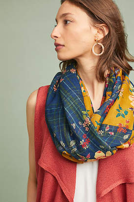 Anthropologie Patchwork Infinity Scarf