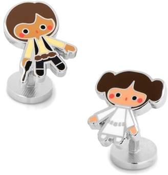 Cufflinks Inc. Cufflinks, Inc. Leia & Han Solo Cuff Links
