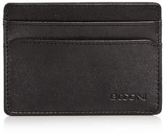 Boconi Collins Weekender Leather Card Case
