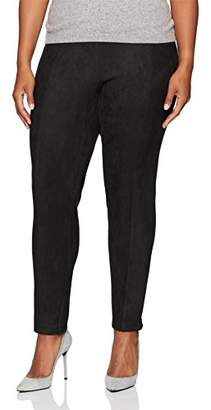 Calvin Klein Women's Plus Size All Over Suede Legging