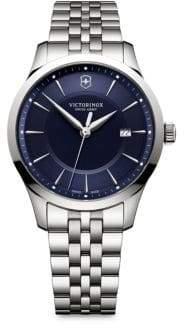 Victorinox Alliance Stainless Steel Round Bracelet Watch