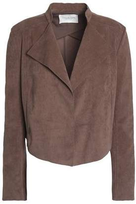 Halston Faux Suede Jacket