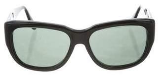 Donna Karan Tinted Oversize Sunglasses