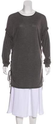 IRO Distressed Long Sleeve Tunic