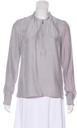 Alice & Trixie Silk Long Sleeve Blouse