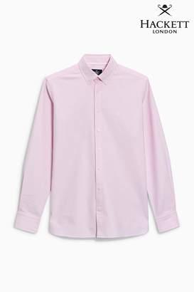 Next Mens Hackett Pink Oxford Shirt
