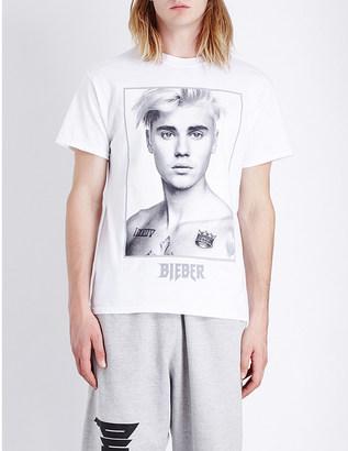 JUSTIN BIEBER Purpose Tour Sorry cotton-jersey t-shirt $42 thestylecure.com