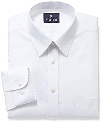 STAFFORD Stafford Comfort Stretch Long Sleeve Dress Shirt