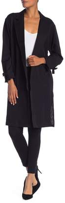 Daniel Rainn DR2 by Bow Sleeve Trench Coat