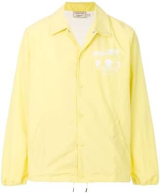 MAISON KITSUNÉ logo windbreaker jacket