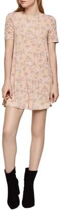 BCBGeneration Floral Shift Dress