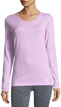 Under Armour Scoop-Neck Seamless Performance Top