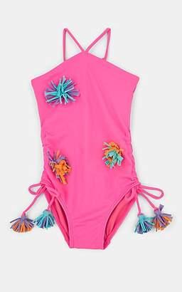 a9a1bd4776 Peixoto Little Kids' Pom-Pom One-Piece Swimsuit - Pink