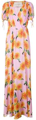Carolina Herrera floral-print maxi dress