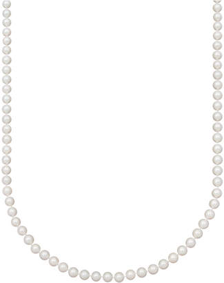 "Belle de Mer Pearl Necklace, 18"" 14k Gold Aa Akoya Cultured Pearl Strand (6-6-1/2mm)"