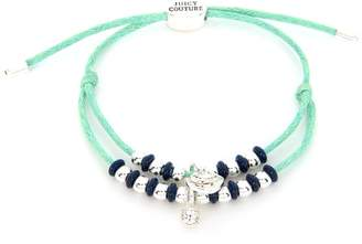 Juicy Couture Multi Strand Beaded Cord Bracelet