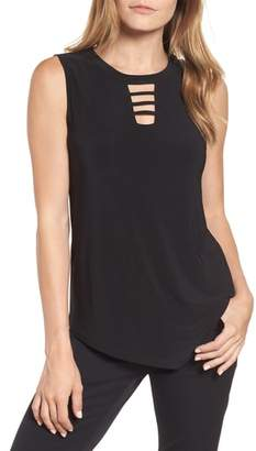 Chaus Cutout Sleeveless Top