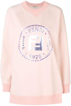 Fendi (フェンディ) - Fendi embellished FF logo sweatshirt