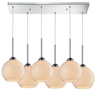 Cassandra ELK Group 6-Light Pendant