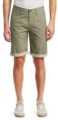G Star Elwood 5622 Cotton Check Shorts
