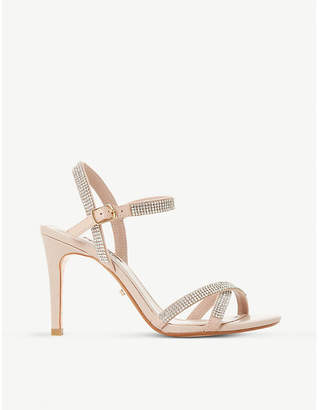 Dune Madalenna diamanté-embellished sandals