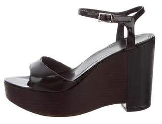246a758371bbe5 Pre-Owned at TheRealReal. Gucci Patent Leather Platform Sandals