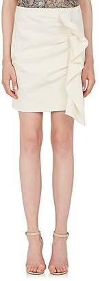 Isabel Marant Women's Lefly Cotton-Blend Miniskirt