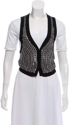 Temperley London Embellished Knit Vest