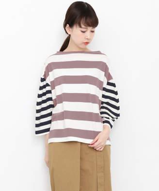 KBF (ケイ ビー エフ) - KBF MIXボーダーワイドTシャツ