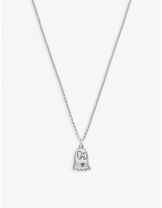 18e697e97 Gucci GucciGhost sterling silver ghost necklace