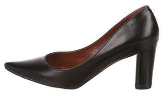 Marc Jacobs Leather Pointed-Toe Pumps
