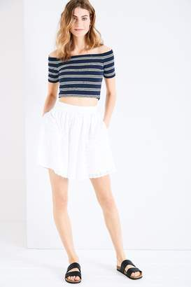 Jack Wills Thythe Broderie Skirt