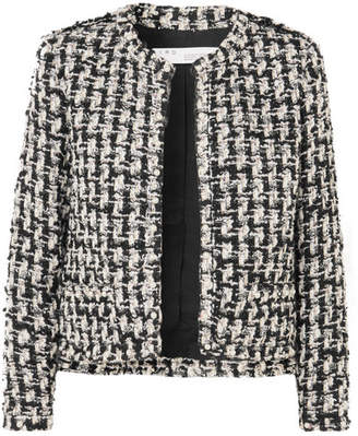 IRO Gonna Faux Pearl-embellished Tweed Jacket - Black