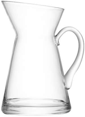 LSA International Flower Jug Clear Glass Vase