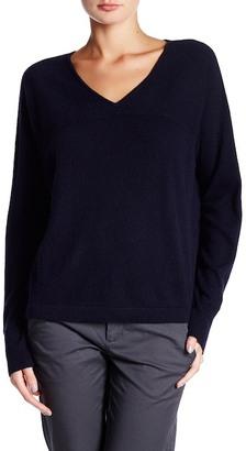 VINCE. Long Sleeve V-Neck Cashmere Pullover $295 thestylecure.com