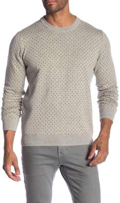 Ben Sherman Tipping Geo Crew Sweater