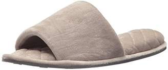 Dearfoams Indoor/Outdoor Women's Velour Slide Slipper - Comfortable