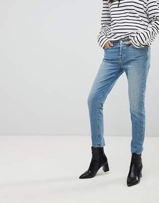 7 For All Mankind Josefina Fitted Boyfriend Jeans