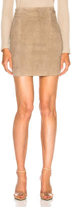 Sablyn Lisa Suede Mini Skirt