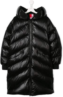 AI Riders On The Storm TEEN hooded padded coat