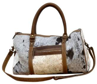 Cow Hide Duffel Bag