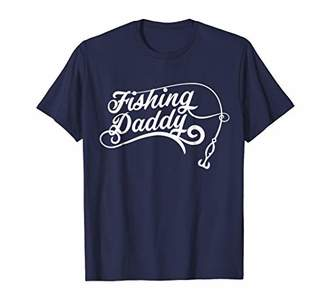 Mens Fishing Daddy T Shirt Dad Men Fishery