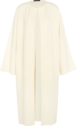 The Row - Gant Knitted Coat - Ivory $2,750 thestylecure.com