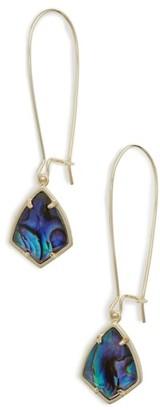 Women's Kendra Scott 'Carrine' Semiprecious Stone Drop Earrings $55 thestylecure.com